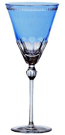 Купить Стопки, Ajka Crystal Heaven Blue рюмка 70 мл, Голубой, Хрусталь