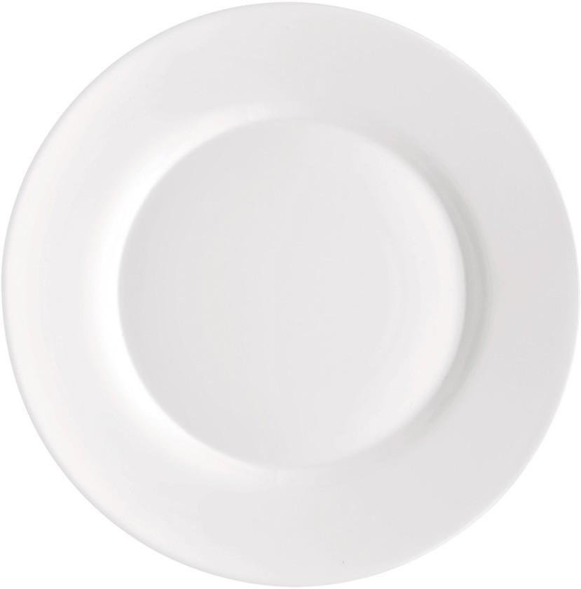 Купить Тарелки, Bormioli Rocco Toledo Dinner Plate Набор тарелок, 6 шт, Белый, Стекло