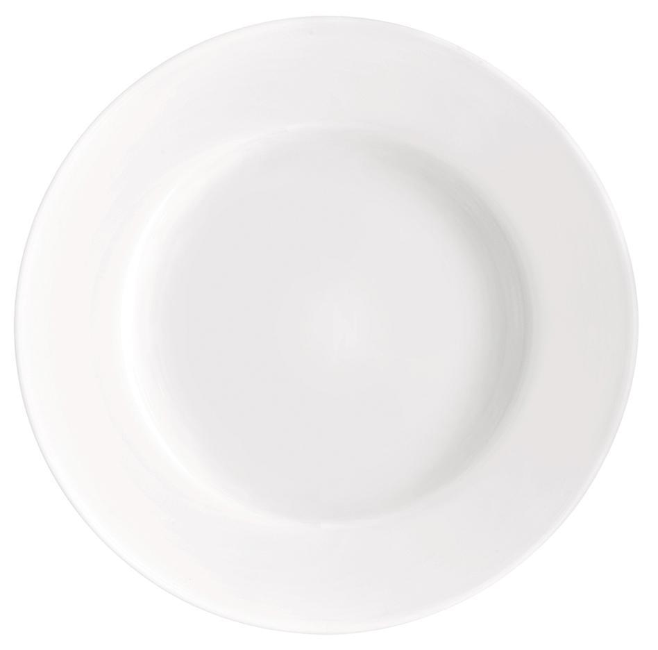 Купить Тарелки, Bormioli Rocco Toledo Soup Plate Набор тарелок, 6 шт, Белый, Стекло