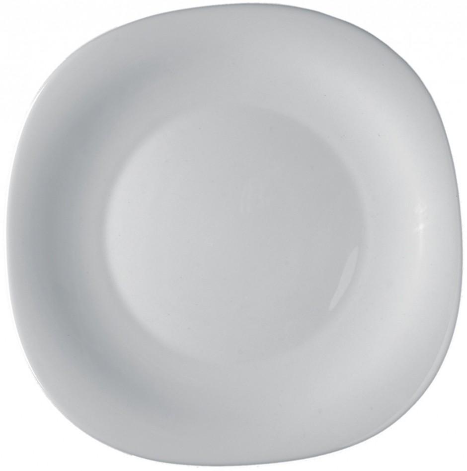 Купить Тарелки, Bormioli Rocco Parma Dessert Plate Набор тарелок, 6 шт, Белый, Стекло