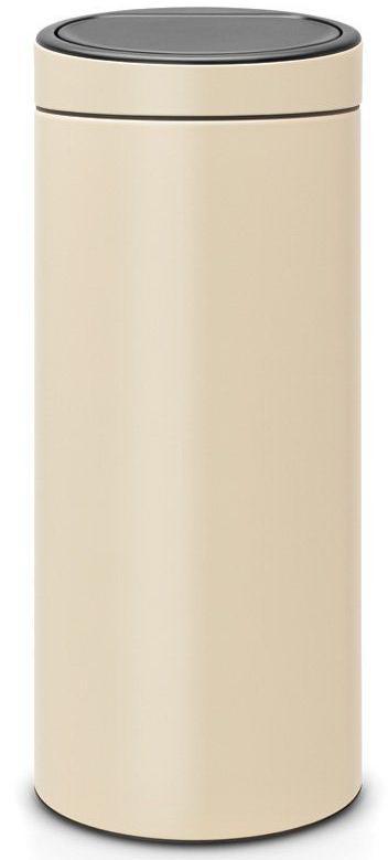 Купить Мусорные баки, Brabantia Touch Bin (30л) - мусорный бак 115042, Бежевый, Металл