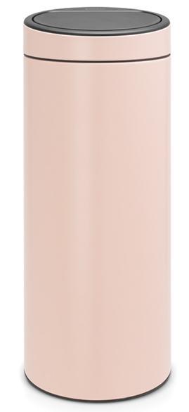 Купить Мусорные баки, Brabantia Touch Bin (30л) - мусорный бак 115226, Розовый, Металл