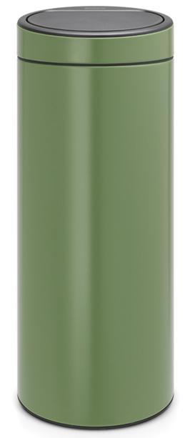 Купить Мусорные баки, Brabantia Touch Bin (30л) - мусорный бак 115264, Зеленый, Металл