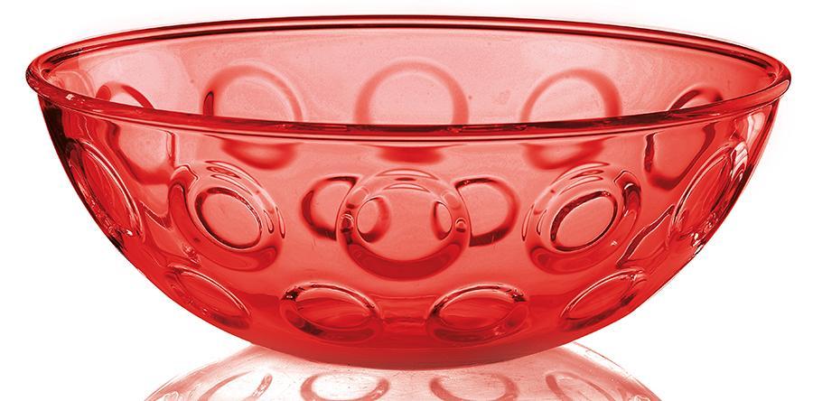 Купить Салатники, Guzzini Салатница Forme Casa 30 см красная, Красный, Пластик