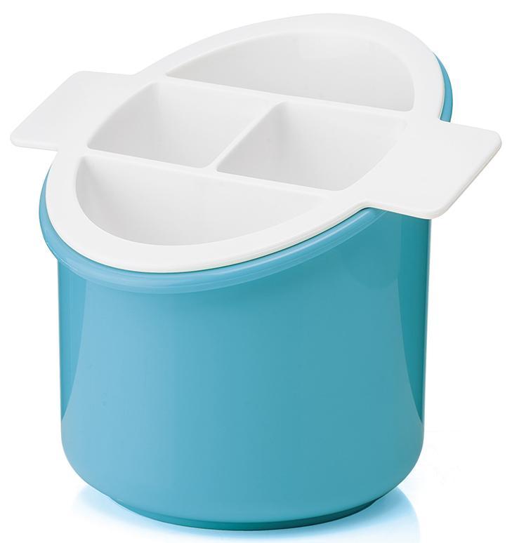 Купить Органайзеры для кухонных принадлежностей, Guzzini Сушилка для столовых приборов Forme Casa Classic голубая, Голубой, Пластик