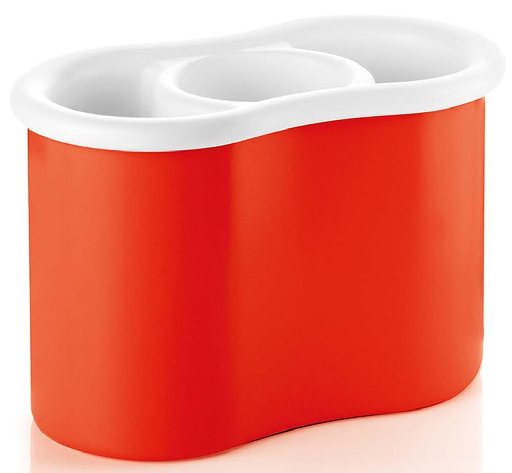 Купить Органайзеры для кухонных принадлежностей, Guzzini Сушилка для столовых приборов Forme Casa красная, Красный, Пластик