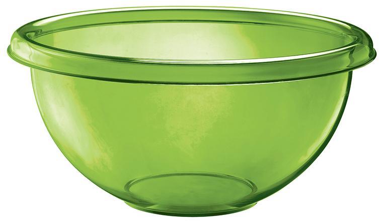 Купить Салатники, Guzzini Миска для салата Happy Hour 7 л зеленая, Зеленый, Пластик