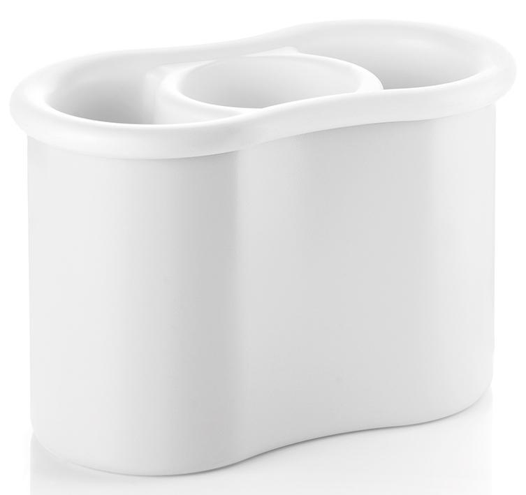 Купить Сушилки для посуды, Guzzini Сушилка для столовых приборов Forme Casa белая, Белый, Пластик