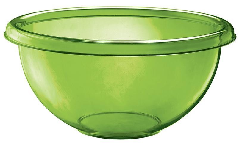 Купить Миски, Guzzini Миска для салата Happy Hour 4 л зеленая, Зеленый, Пластик