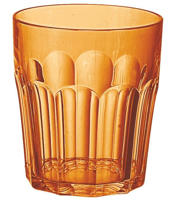Купить Стаканы для воды, Guzzini Стакан Happy Hour 350 мл оранжевый, Оранжевый, Пластик