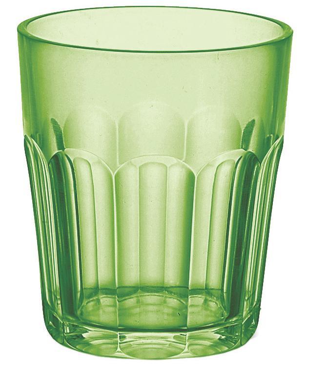 Купить Стаканы для воды, Guzzini Стакан Happy Hour 350 мл зеленый, Зеленый, Пластик