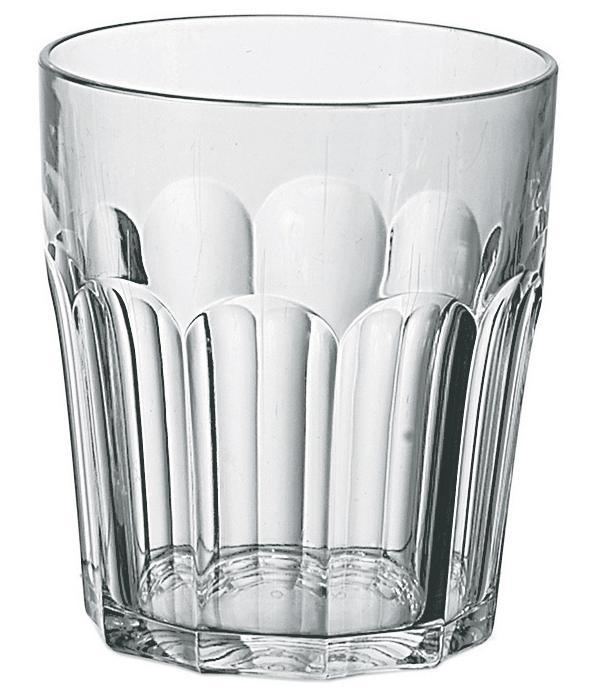 Купить Стаканы для воды, Guzzini Стакан Happy Hour 350 мл прозрачный, Прозрачный, Пластик