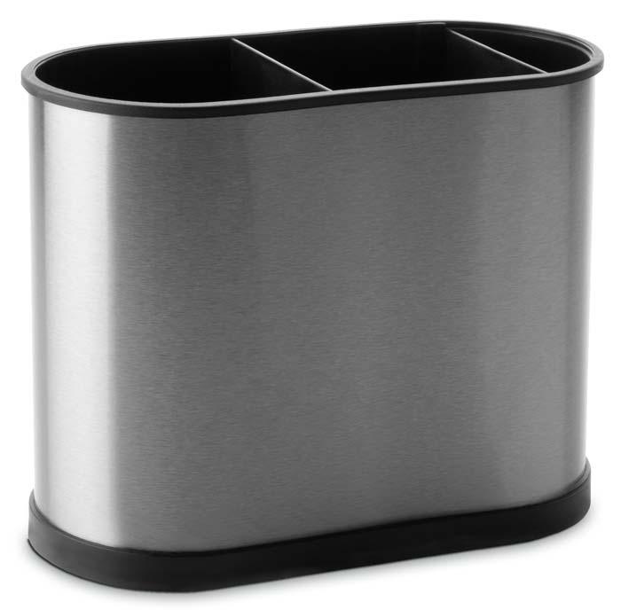 Купить Органайзеры для кухонных принадлежностей, IBILI Prisma Подставка для кухонных аксессуаров 22х18 см, Серебристый, Нержавеющая сталь