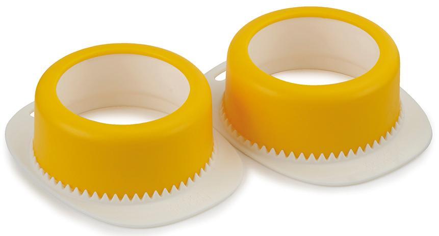Купить Полезные гаджеты, Joseph Joseph Набор из 2-х форм для яиц пашот Poach-Pro, Желтый, Пластик
