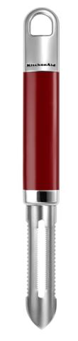 Купить Ножи для чистки, KitchenAid Нож для чистки овощей и фруктов, красная ручка, Красный, Нержавеющая сталь