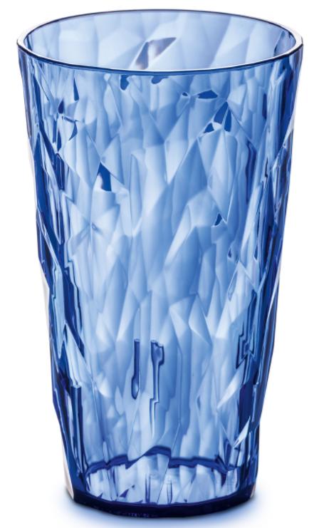 Купить Стаканы для воды, Koziol CLUB L Бокал голубой 400 мл, Голубой, Пластик