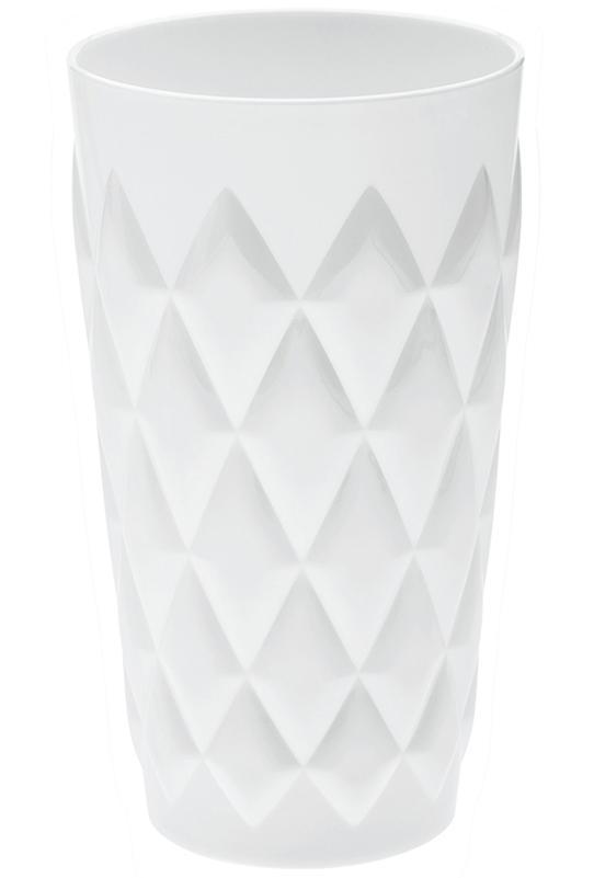 Купить Стаканы для воды, Koziol Стакан CRYSTAL L, 450 мл, белый, Белый, Пластик