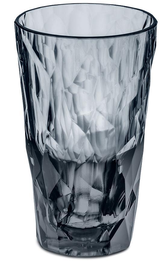 Купить Стаканы для воды, Koziol Стакан Superglas CLUB NO.6, 300 мл, серый, Серый, Пластик