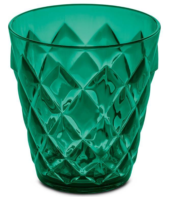 Купить Стаканы для воды, Koziol Бокал CRYSTAL S 200 мл, зелёный, Зеленый, Пластик