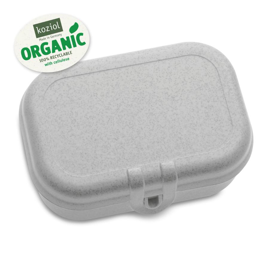 Купить Ланч-боксы, Koziol Ланч-бокс PASCAL S Organic, серый, Серый, Полипропилен
