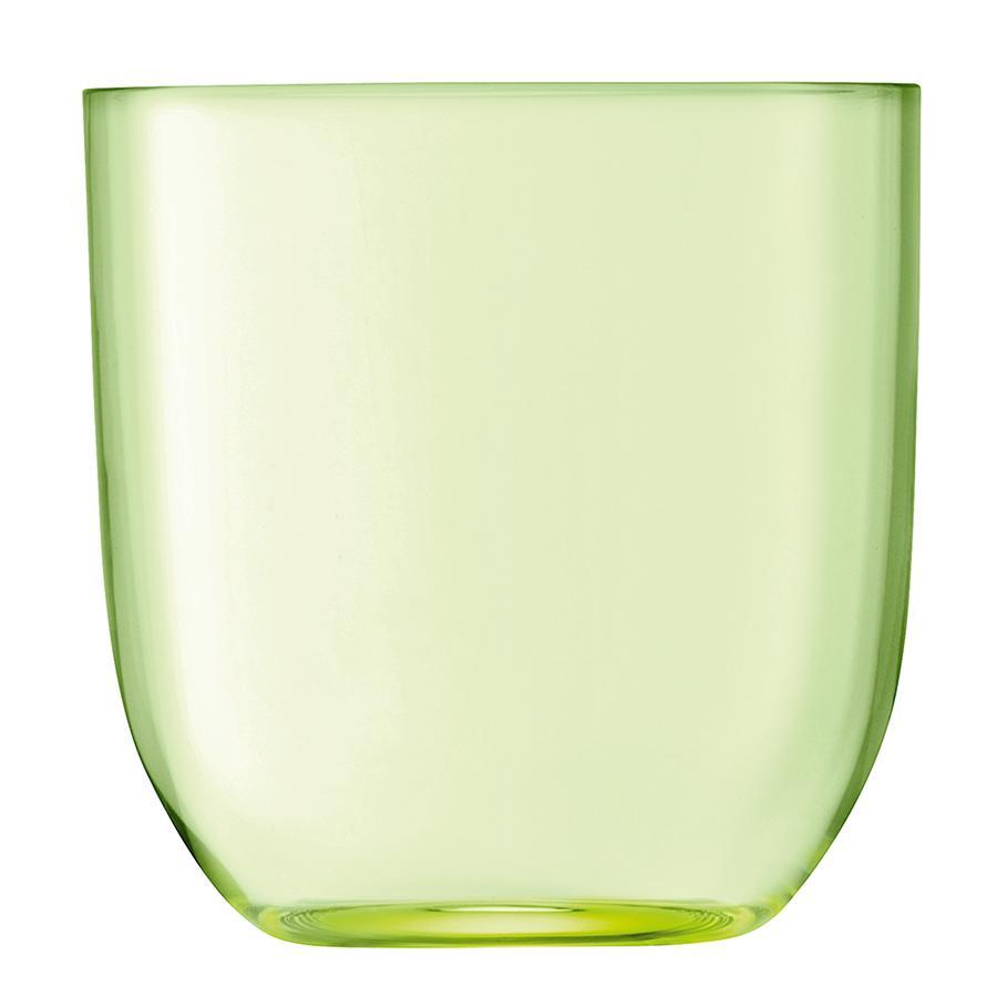 Купить Наборы стаканов, LSA Набор из 2 стаканов Hint 400 мл зелёный, LSA International, Зеленый, Стекло