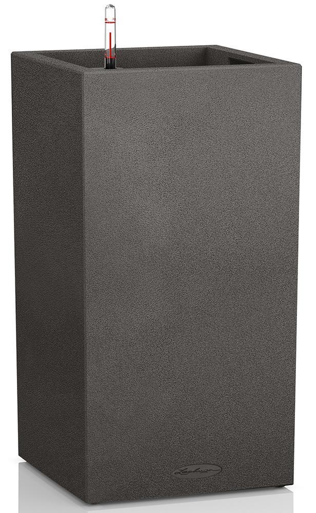 Купить Напольные кашпо, Lechuza CANTO Color 30 Кашпо - колонна с системой полива Черный, Пластик