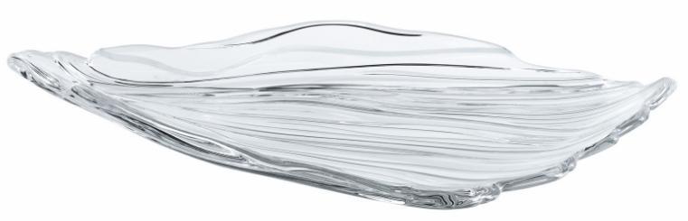 Купить Тарелки, Nachtmann Jin Yu Plate Set 2, набор из 2 блюд 30 см, Белый, Хрустальное стекло