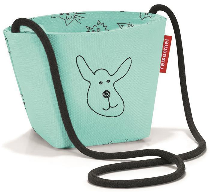 Купить Сумки, Reisenthel Сумка детская Minibag Cats and dogs, мятная, Мятный, Полиэстер