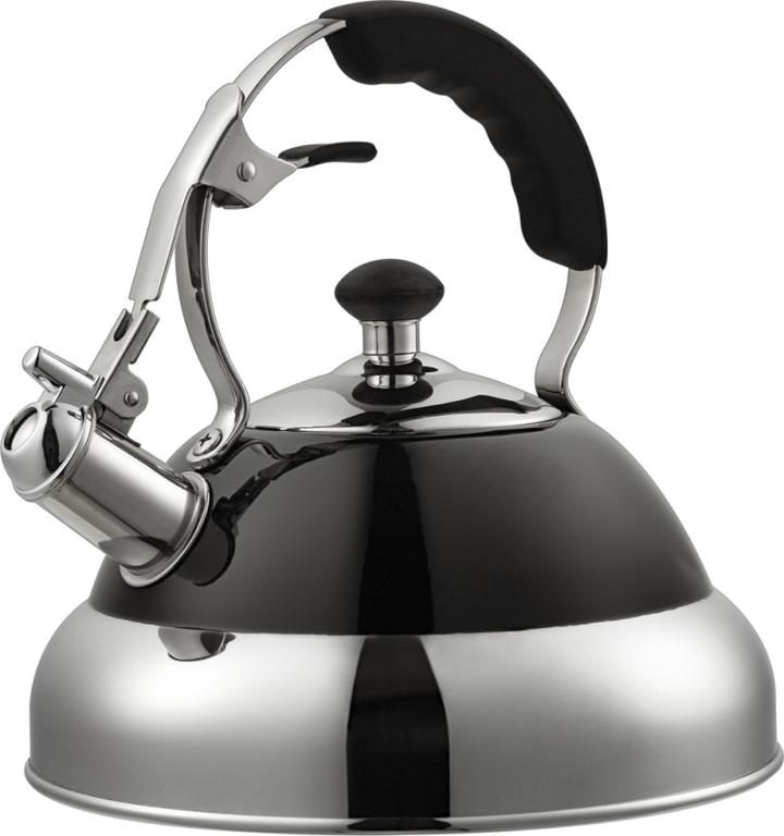 Купить Наплитные чайники, Wesco Classic чайник со свистком 2, 75 л, черный, Черный, Нержавеющая сталь