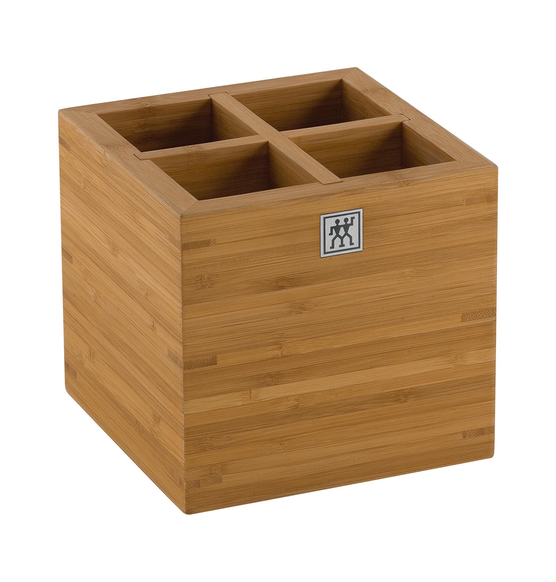 Купить Органайзеры для кухонных принадлежностей, Zwilling Подставка для кухонных принадлежностей большая, бамбук, Zwilling J.A. Henckels, Коричневый, Дерево