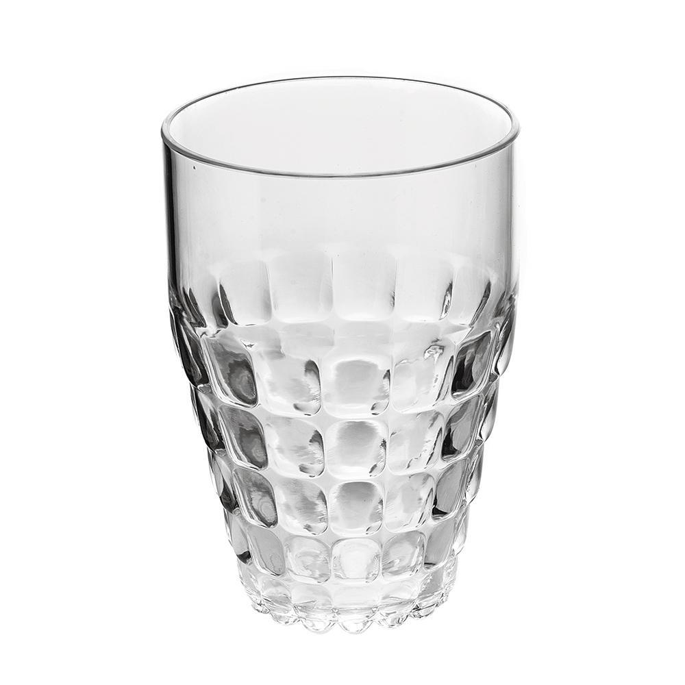 Купить Стаканы для воды, Guzzini Бокал Tiffany прозрачный, Белый, Пластик