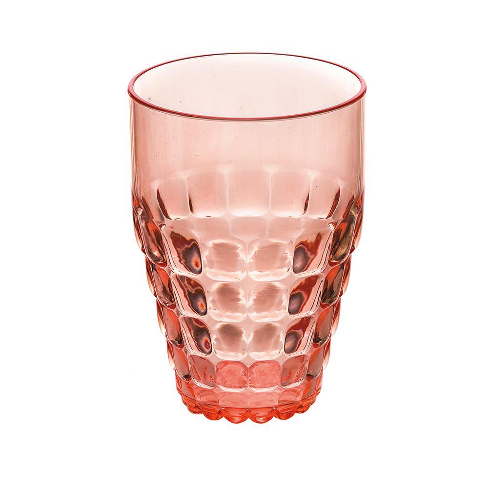 Купить Стаканы для воды, Guzzini Бокал Tiffany коралловый, Коралловый, Пластик