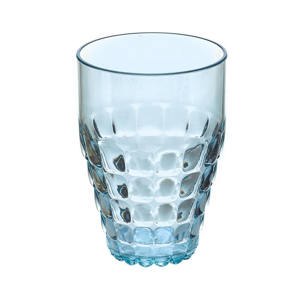 Купить Стаканы для воды, Guzzini Бокал Tiffany голубой, Голубой, Пластик