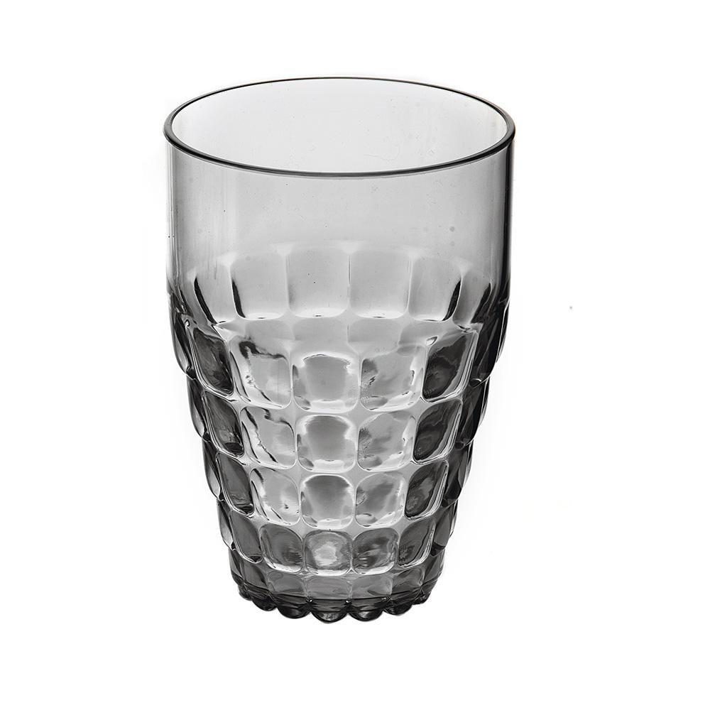 Купить Стаканы для воды, Guzzini Бокал Tiffany серый, Серый, Пластик