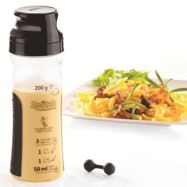Купить Аксессуары для выпечки, Gefu, Емкость для блинного теста, Черный, Пластик